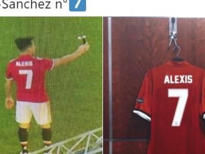 Antes de anúncio, vaza selfie de Sánchez com camisa do United