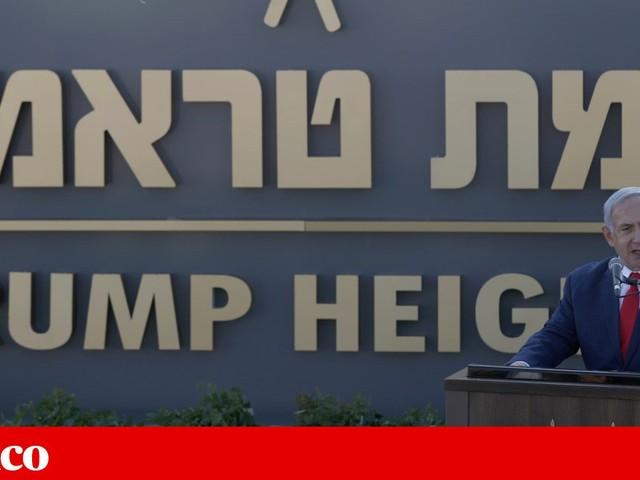 Netanyahu dá nome de Trump a colonato nos Montes Golã