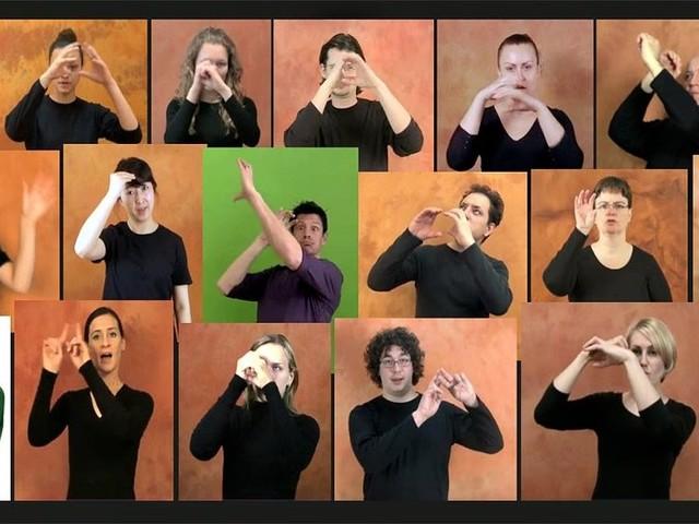 Las manos en las estrellas: El diccionario de señas para astronomía