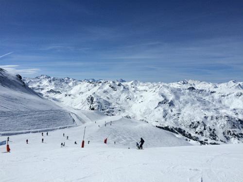 A neve chegou na França