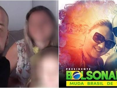 'Cidadão de bem' mata a esposa na frente da filha de 5 anos