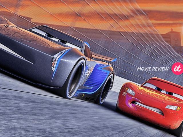 """""""Carros 3"""" está longe de ser o melhor filme da Pixar, mas consegue emocionar os fãs do filme original"""