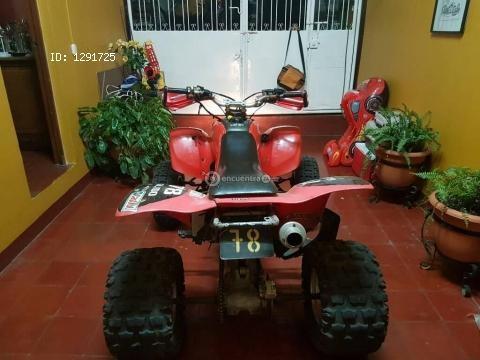 Vendo cudraciclo honda trx400 ex
