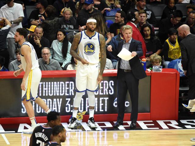 Cousins estreia com expulsão, mas ajuda Warriors a vencer os Clippers