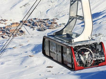 Val Thorens, a estação de esqui mais alta da Europa