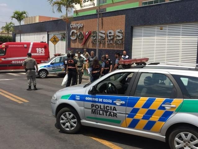 Goiânia: Adolescente de 14 anos atira e mata dois colegas