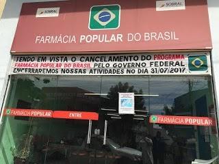 Sentimento de tristeza e descontentamento marca o fechamento da Farmácia Popular do Brasil em Sobral