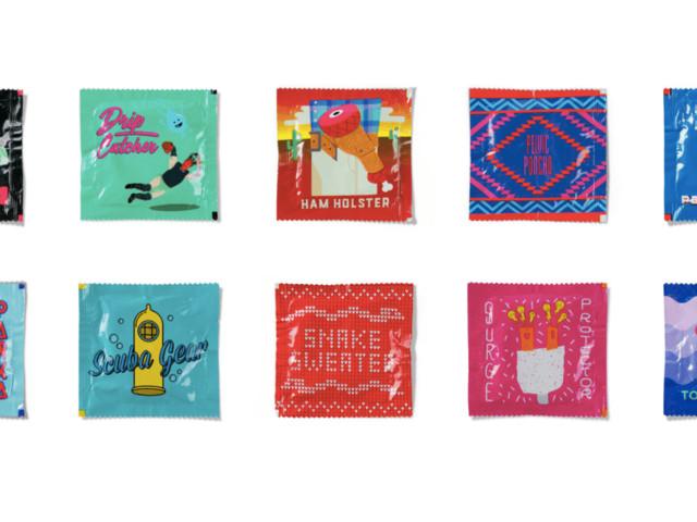 Com nomes e desenhos criativos, agência prova que camisinhas podem ser divertidas