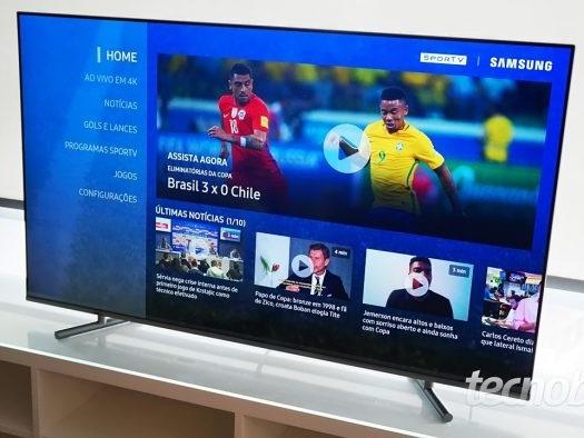Samsung lança TV QLED menos cara no Brasil