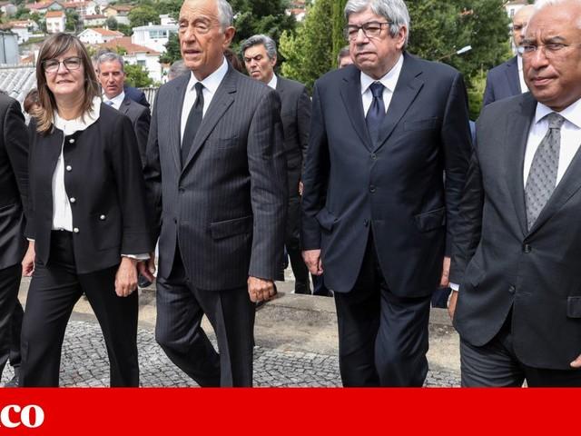 Marcelo, Costa e Ferro em missa de homenagem a vítimas dos incêndios de 2017
