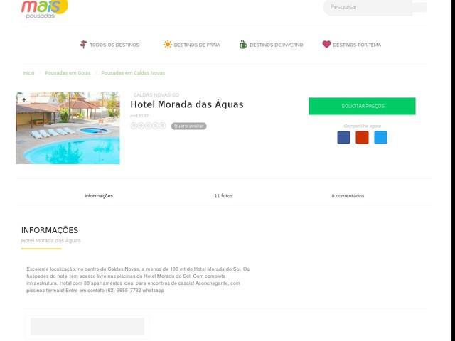 Hotel Morada das Águas - Caldas Novas - GO