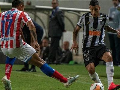 Copa Sul-Americana   Atlético-MG vence Unión por 2 a 0, mas é eliminado
