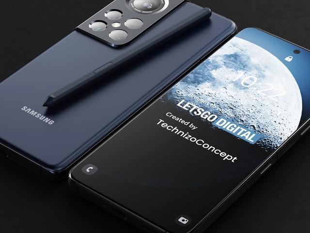 Galaxy S22 Ultra pode ter tela enorme e slot para S Pen