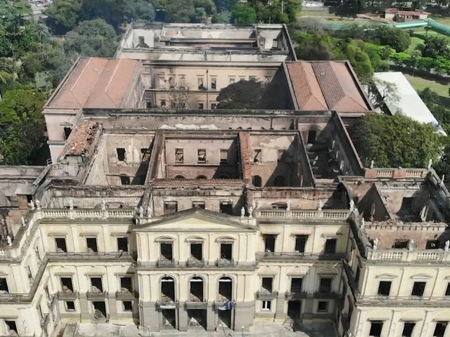 Rain Threatens Recovery of Brazil's National Museum in Rio