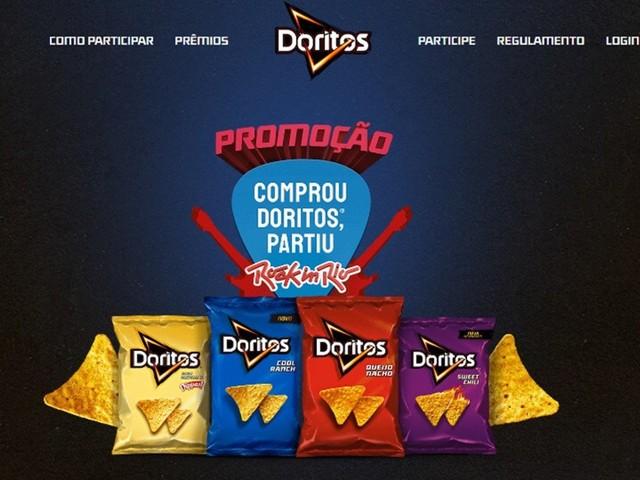 Promoção da Doritos dá mais de 200 ingressos do Rock in Rio