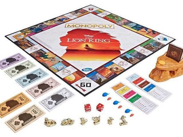 Jogo Monopoly lança versão especial de 'Rei Leão' em comemoração aos 25 anos do filme