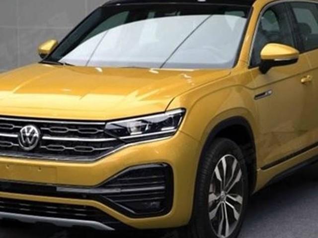 VW Tayron, concorrente do Compass, em novembro - China