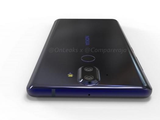 Vazamento mostra Nokia 9 com tela curva e câmera dupla