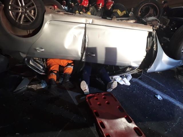 Tenente-Coronel da PM se recupera de acidente de carro no centro de Belém
