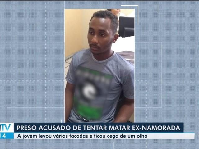 Homem é preso na BA suspeito de tentar matar a ex; mulher teve olho perfurado e ficou cega