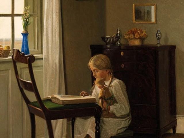 Imagem de leitura — Alfred Broge