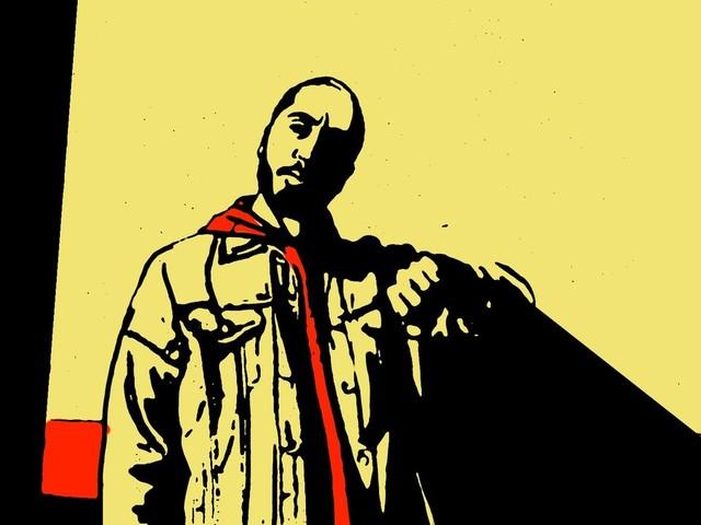 Rapper Rashid recorre à animação para abrandar fervura de música inédita