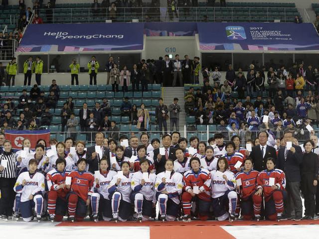 Para time de hóquei sul-coreano, união com o Norte é um sacrifício