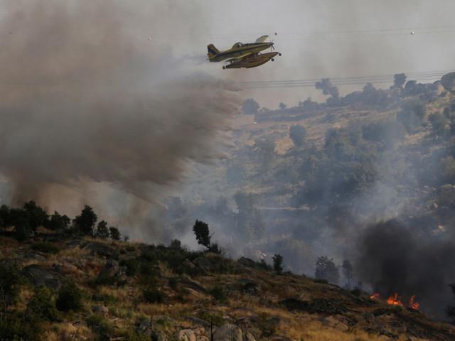 """Líder da Proteção Civil destaca """"extrema violência"""" dos incêndios no Pinhal Interior"""