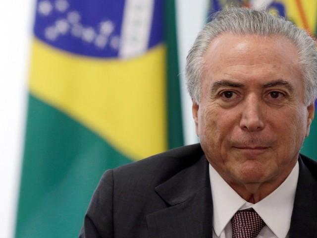 """""""Tirámos o país da recessão"""" e Brasil """"começa a responder"""", diz Temer"""