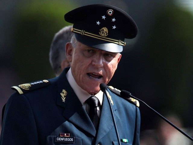 Mexico Will not Criminally Charge ex-Defense Minister Cienfuegos