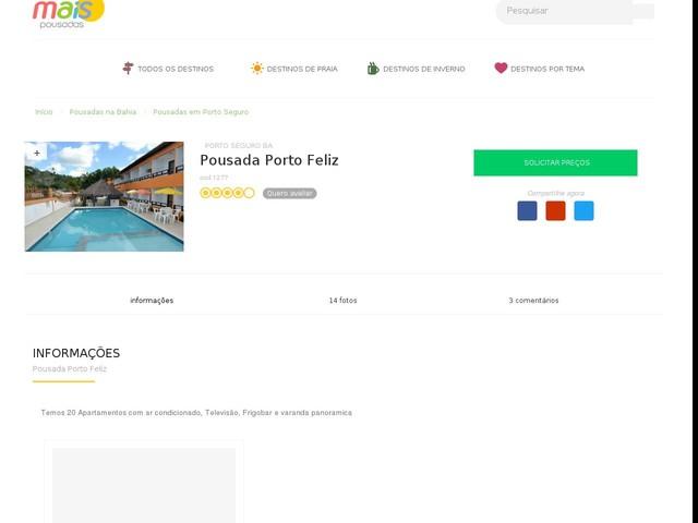 Pousada Porto Feliz - Porto Seguro - BA