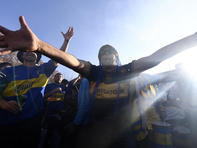 Confira o clima pré-jogo da final da Libertadores em Madrid