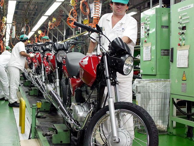 Brazil's Industrial Production Grows by 13.1 Percent in June