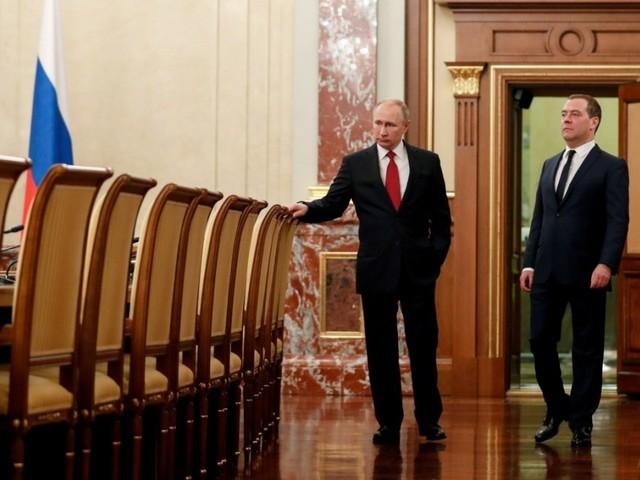 Russischer Ministerpräsident Medwedjew tritt zurück