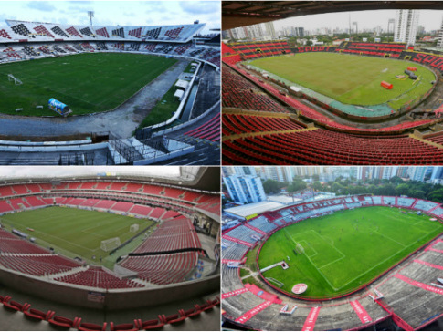 Os dez maiores públicos no Arruda, Ilha do Retiro, Arena Pernambuco e Aflitos
