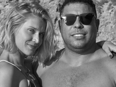 """Namorada se declara ao """"momo"""" Ronaldo Fenômeno em seu aniversário"""