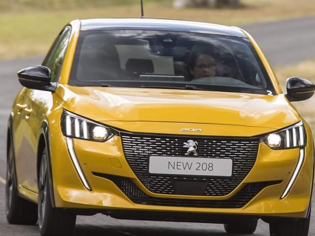 Novos Peugeot 208 e 2008 2020 agradam em testes - Europa