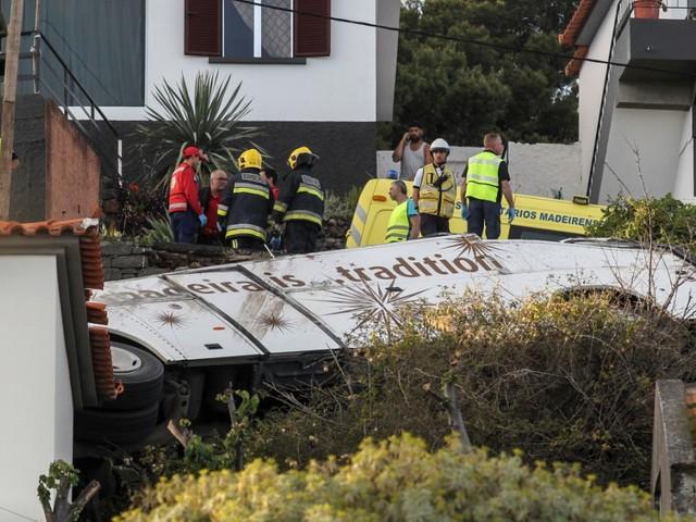 Viele Tote bei Busunglück auf Madeira befürchtet
