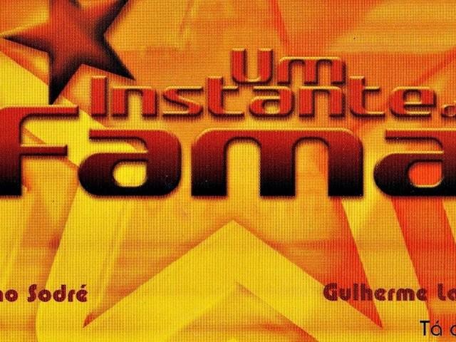 Vários intérpretes - Um instante de fama (CD 2002)