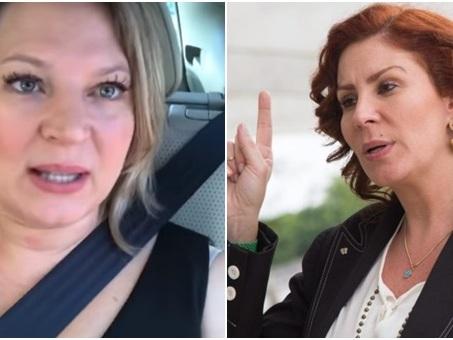 Deputadas do PSL, Joice e Carla Zambelli trocam xingamentos publicamente