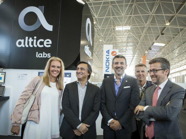 Altice apresenta tecnologia 5G ao comissário europeu Carlos Moedas
