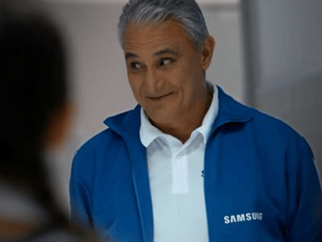 Samsung apresenta teaser da nova campanha com técnico Tite