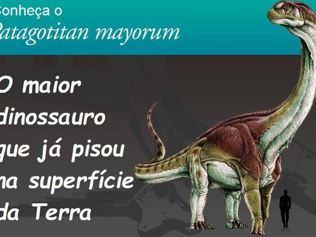 Titanossauro – O maior animal que já andou sobre a Terra