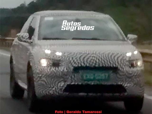 Flagra: Citroën C4 Cactus nacional terá plataforma BVH1 usada por 208, 2008, Aircross e C3