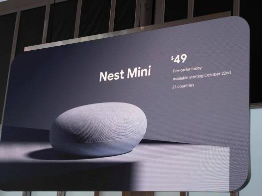 Novo Nest Mini é anunciado com melhorias e será vendido no Brasil