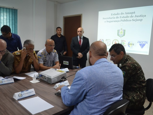 Ações integradas são discutidas para diminuir crimes violentos no Amapá