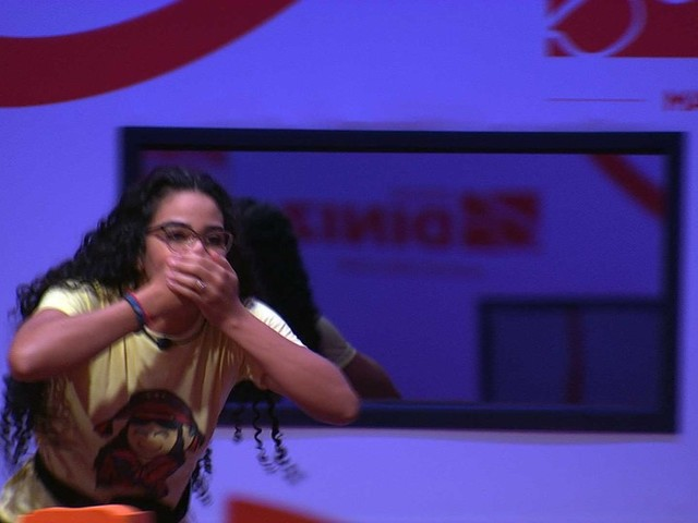 BBB19: Elana ganha a Prova do Líder pela terceira vez consecutiva
