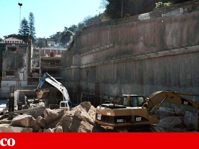 Embargo de obra na Gandarinha em Sintra foi desrespeitado duas vezes