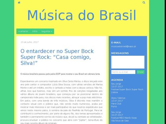 "O entardecer no Super Bock Super Rock: ""Casa comigo, Silva!"""