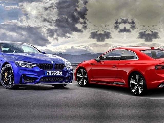 BMW M4 CS e Audi RS5 Coupé serão vendidos no Brasil